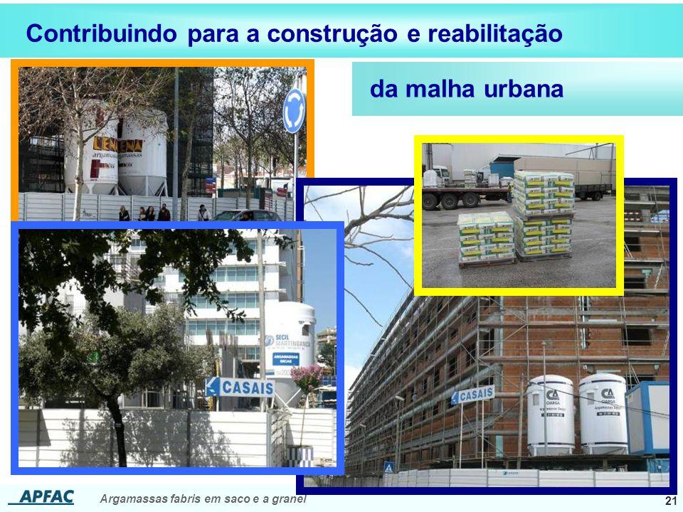 Contribuindo para a construção e reabilitação