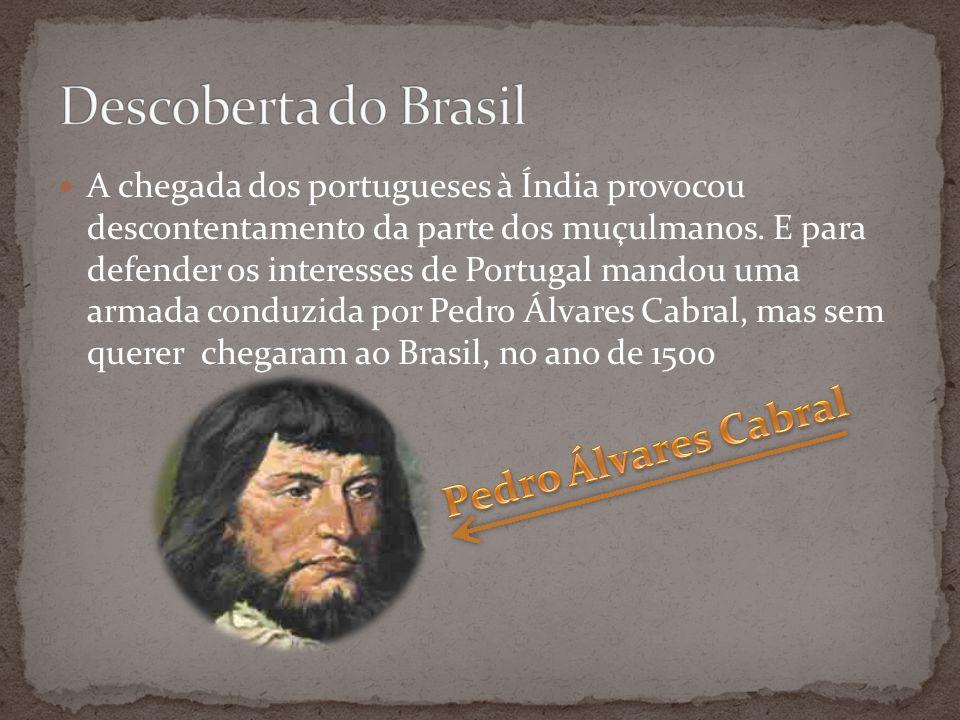 Descoberta do Brasil Pedro Álvares Cabral