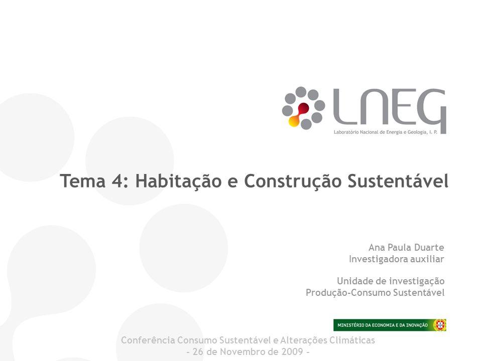 Conferência Consumo Sustentável e Alterações Climáticas