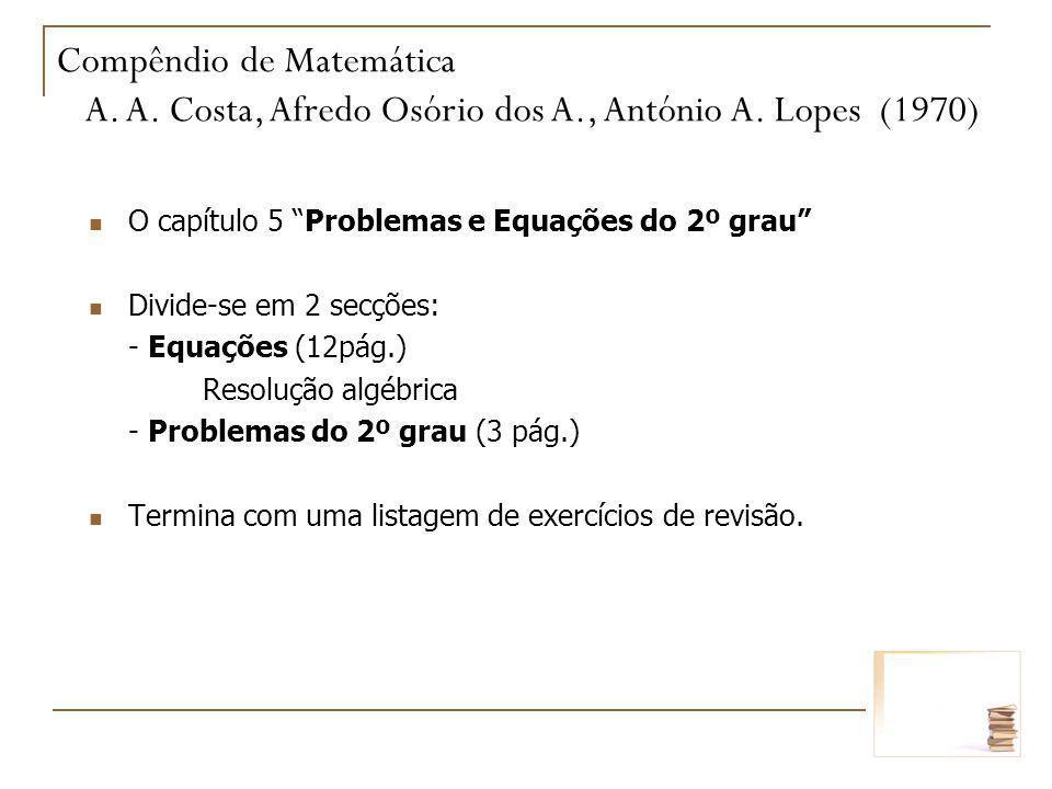 Compêndio de Matemática