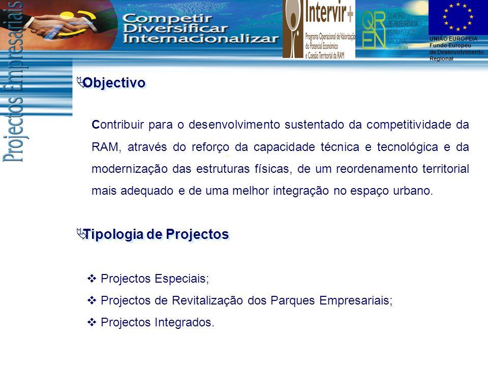 Tipologia de Projectos