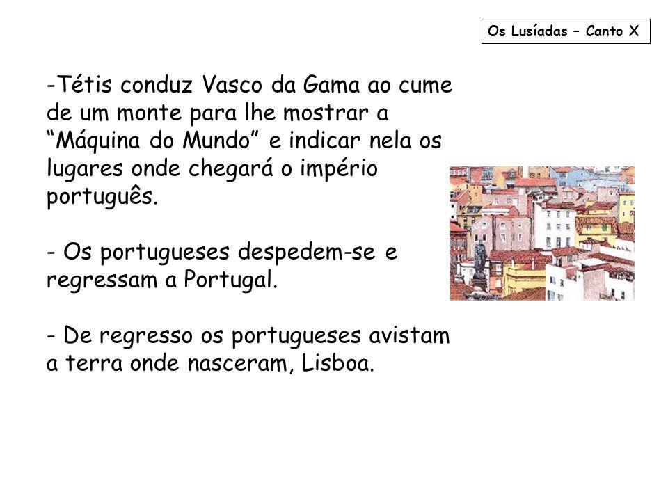 Os portugueses despedem-se e regressam a Portugal.