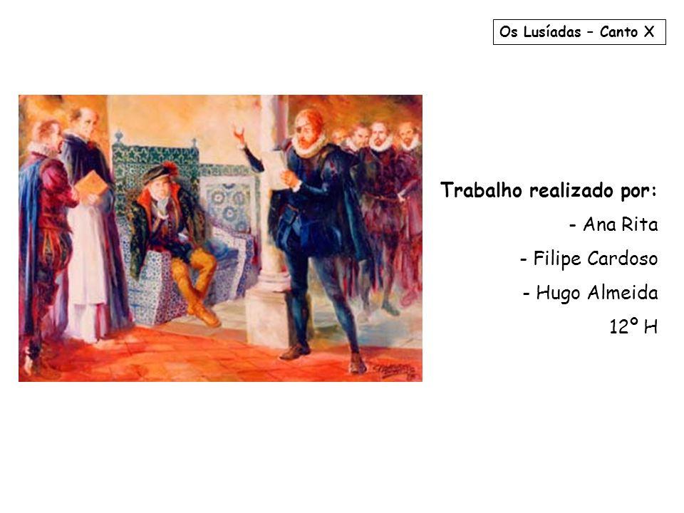 Trabalho realizado por: - Ana Rita - Filipe Cardoso - Hugo Almeida