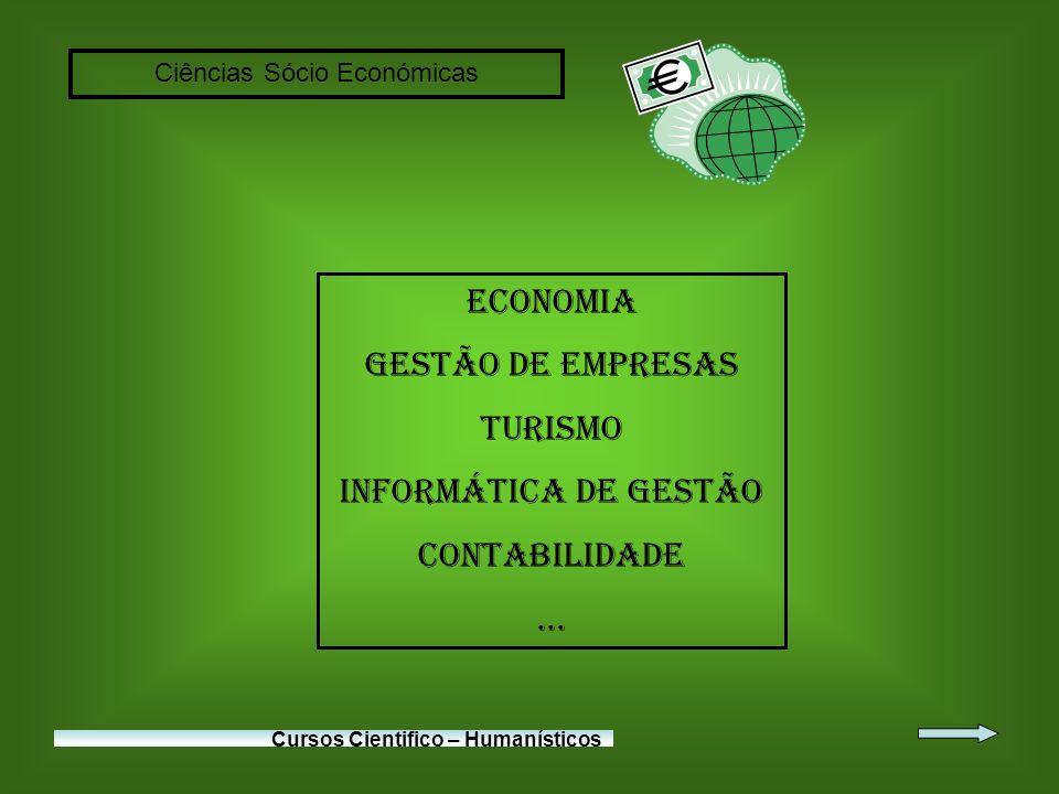 Ciências Sócio Económicas