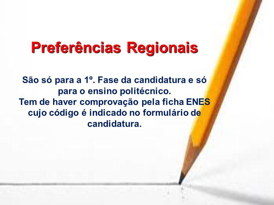 Preferências Regionais