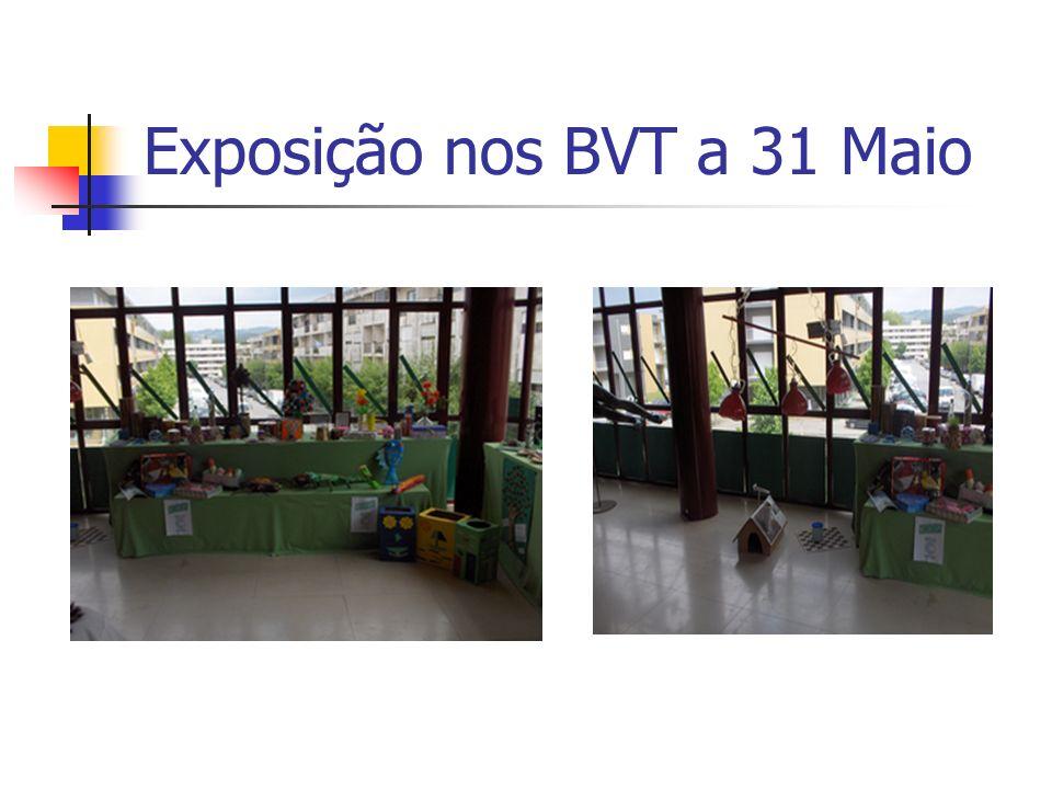 Exposição nos BVT a 31 Maio