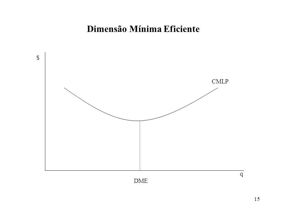 Dimensão Mínima Eficiente