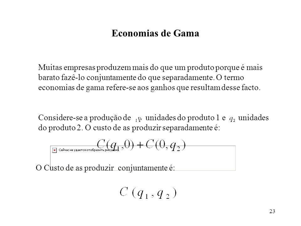 Economias de Gama