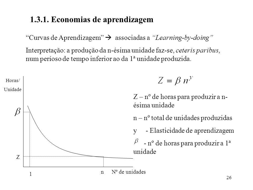 1.3.1. Economias de aprendizagem