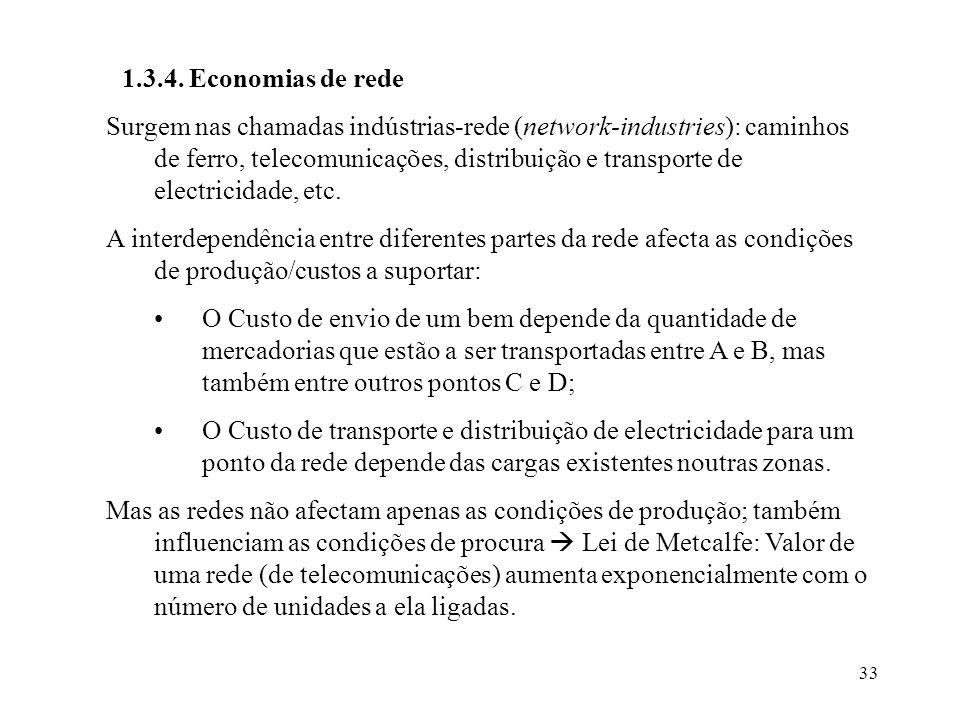 1.3.4. Economias de rede