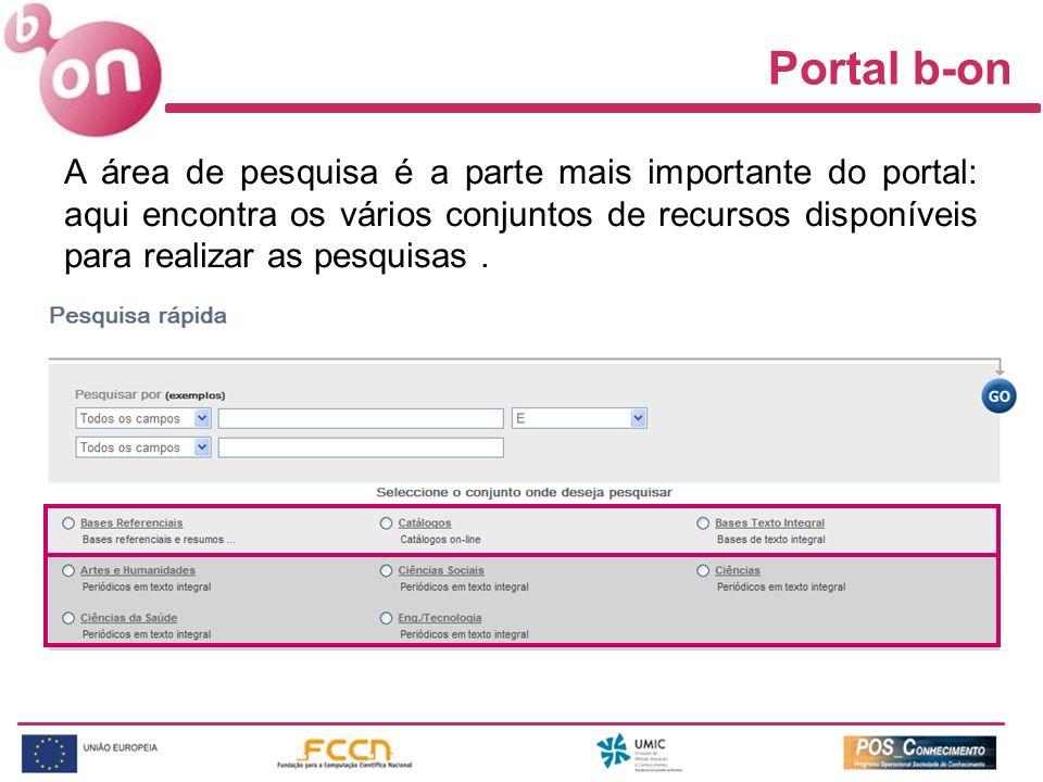 Portal b-on