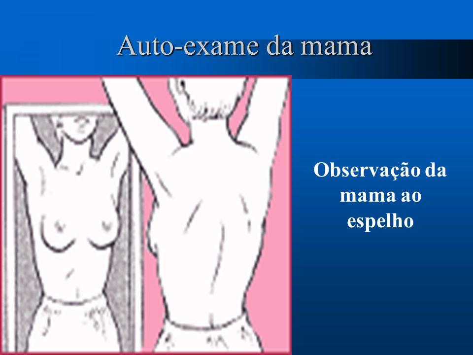 Observação da mama ao espelho