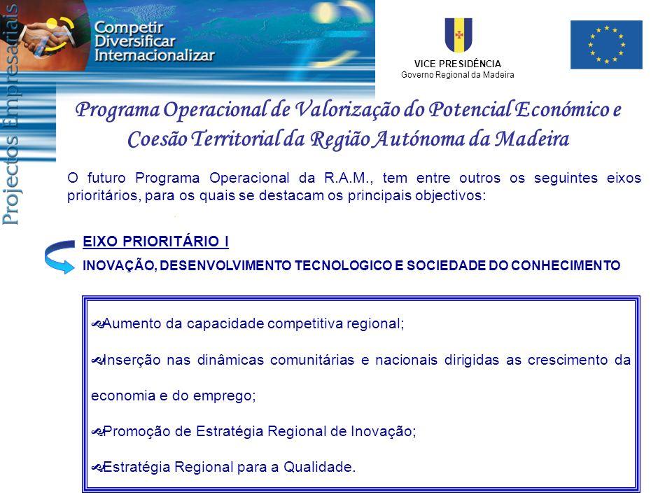 Programa Operacional de Valorização do Potencial Económico e Coesão Territorial da Região Autónoma da Madeira