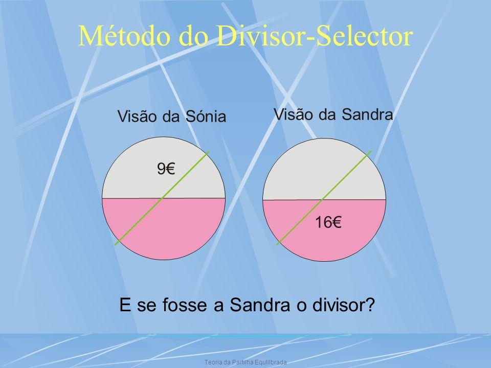 Método do Divisor-Selector