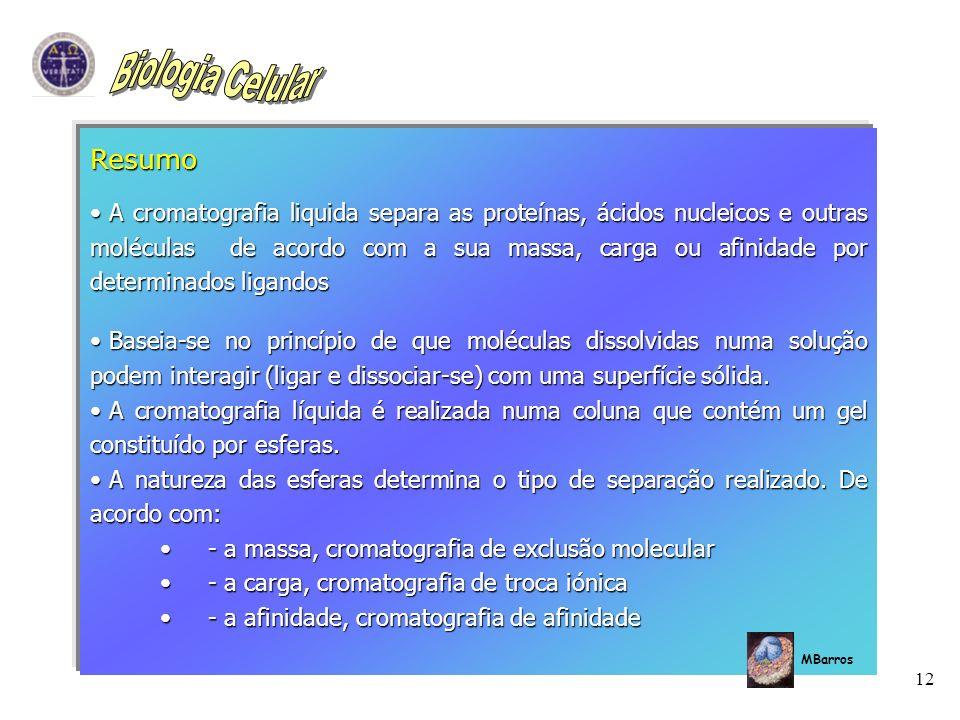 Biologia Celular Resumo