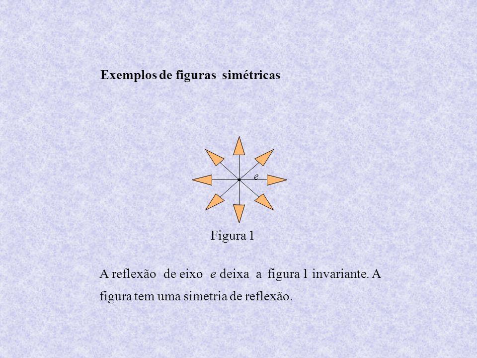 Exemplos de figuras simétricas