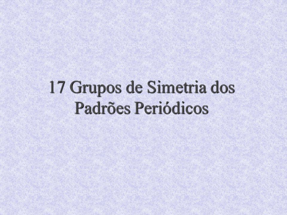 17 Grupos de Simetria dos Padrões Periódicos
