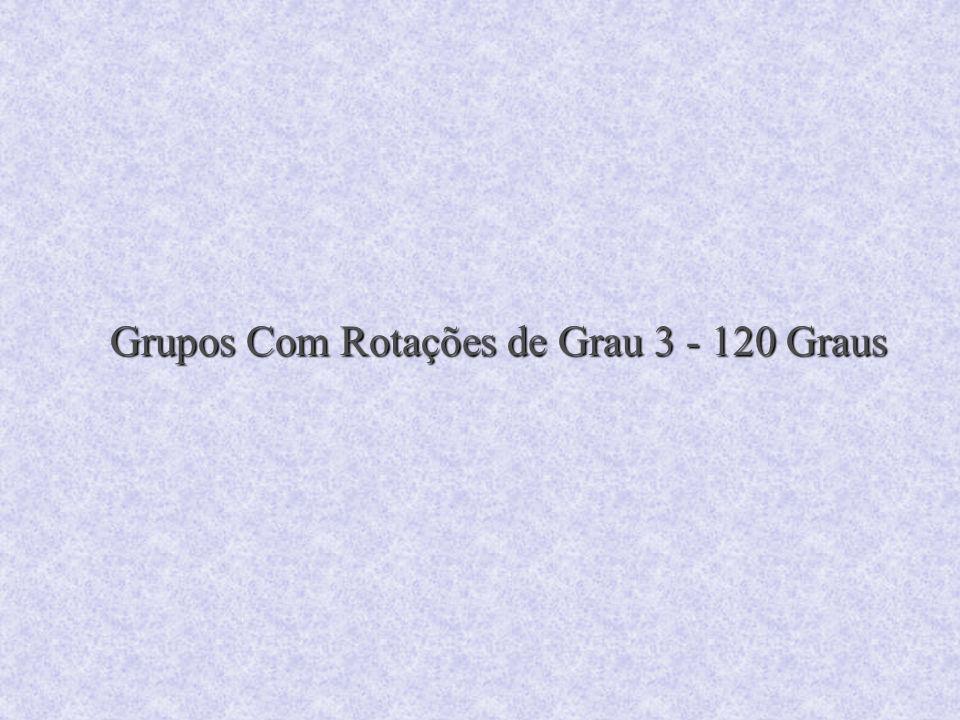 Grupos Com Rotações de Grau 3 - 120 Graus