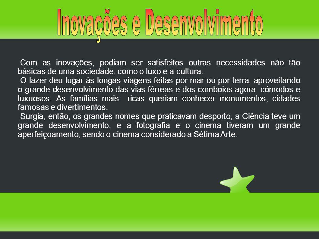 Inovações e Desenvolvimento