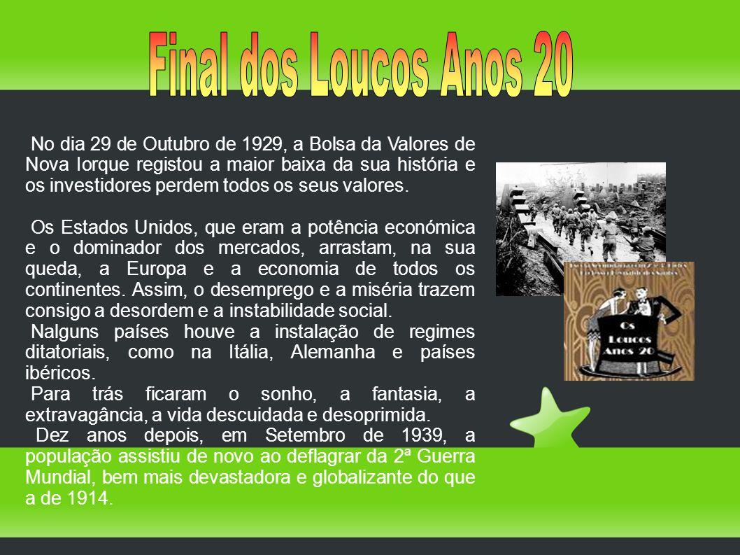 Final dos Loucos Anos 20