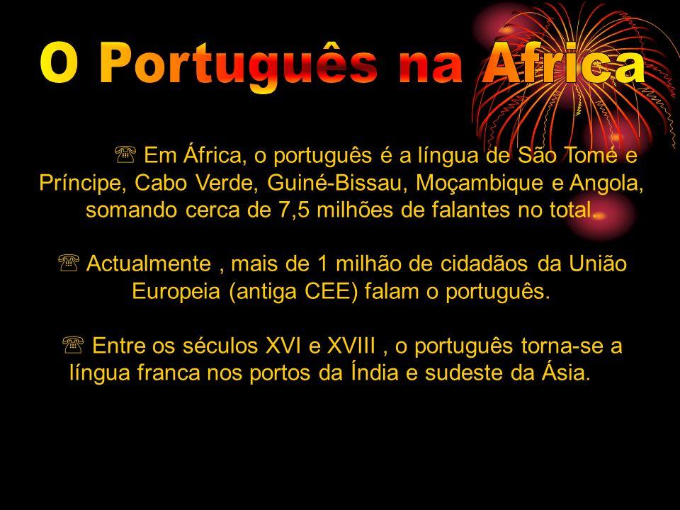 O Português na Africa