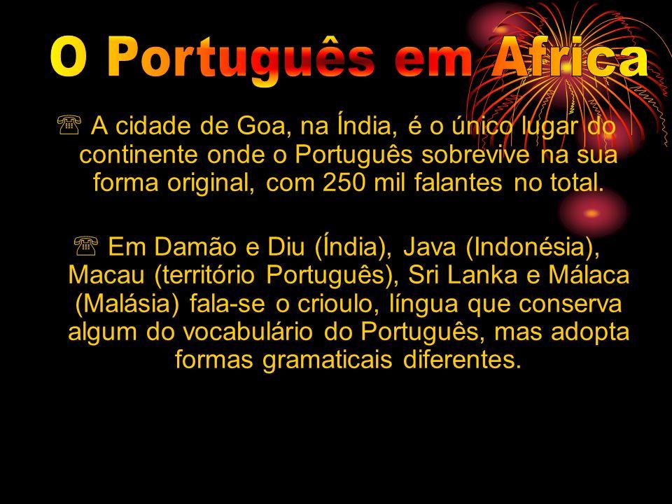 O Português em Africa