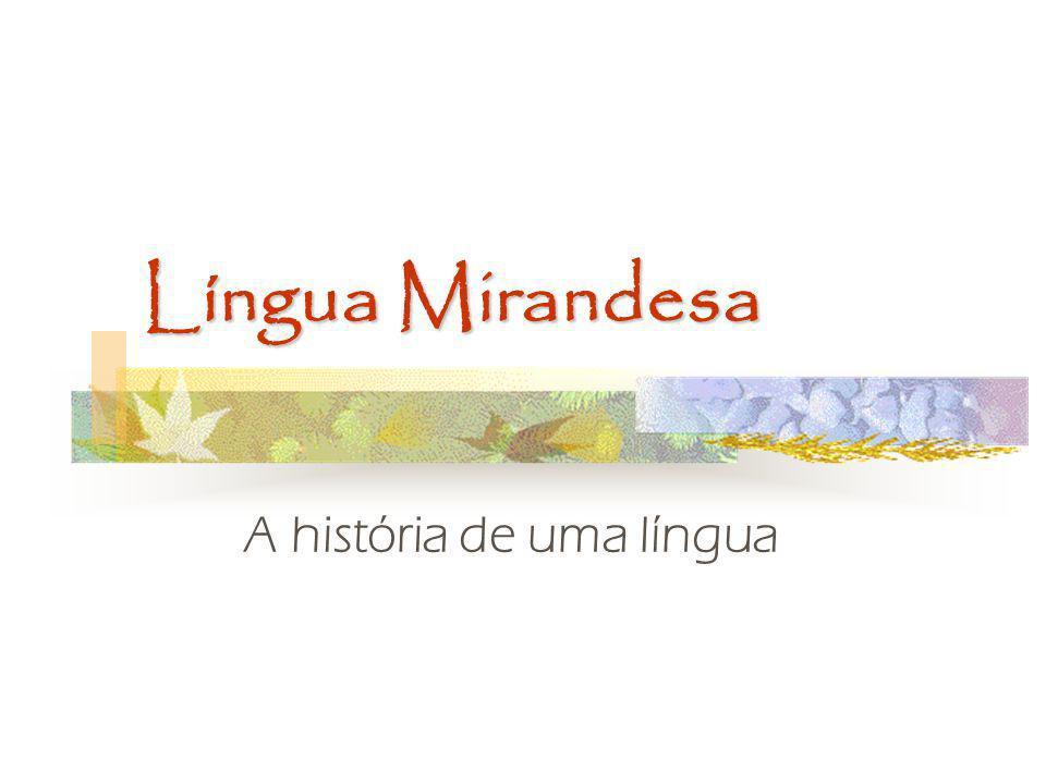 A história de uma língua