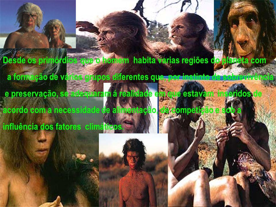 Desde os primórdios que o homem habita varias regiões do planeta com