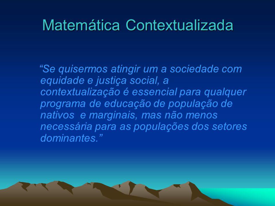 Matemática Contextualizada
