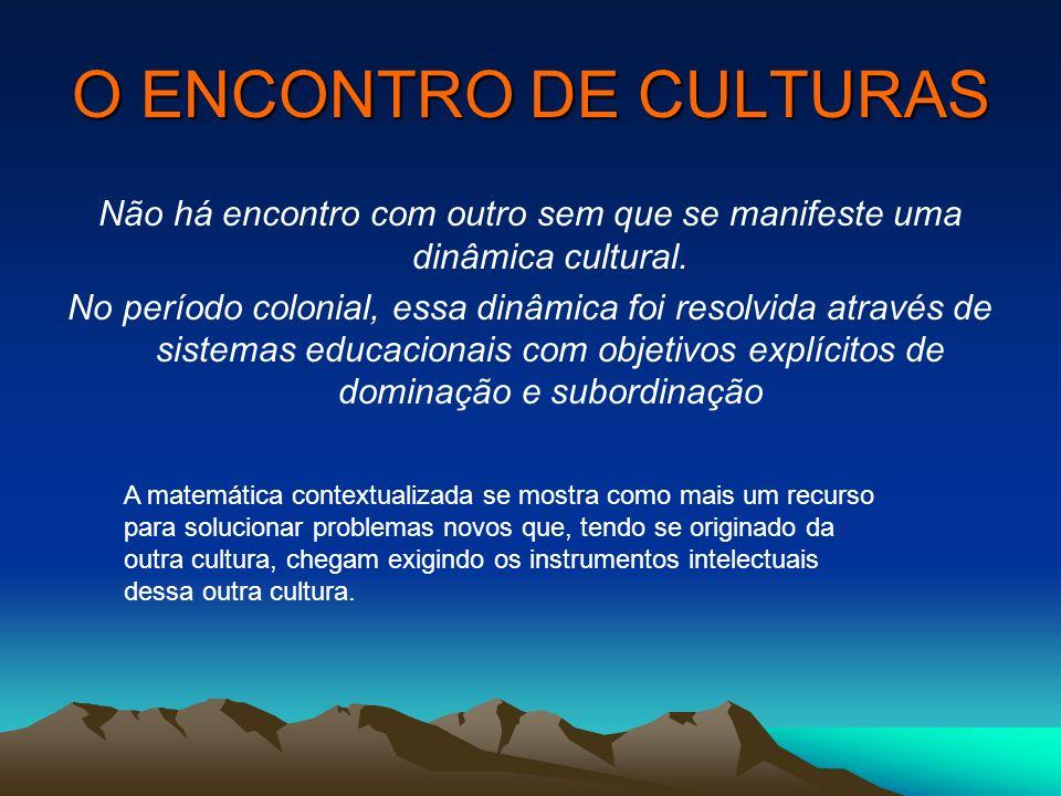 Não há encontro com outro sem que se manifeste uma dinâmica cultural.