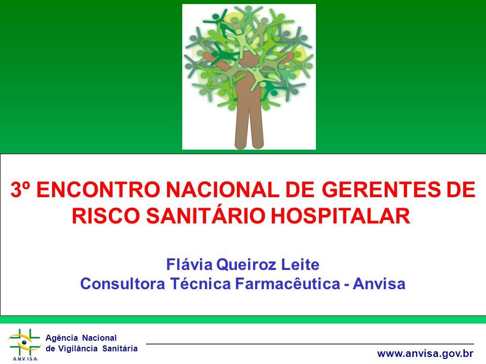 3º ENCONTRO NACIONAL DE GERENTES DE RISCO SANITÁRIO HOSPITALAR