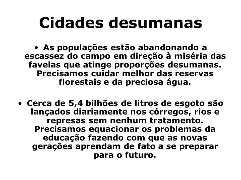 Cidades desumanas
