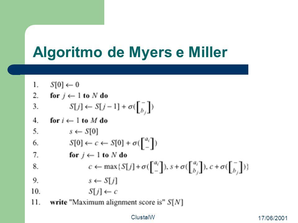 Algoritmo de Myers e Miller