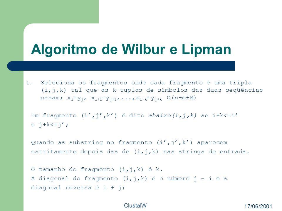 Algoritmo de Wilbur e Lipman