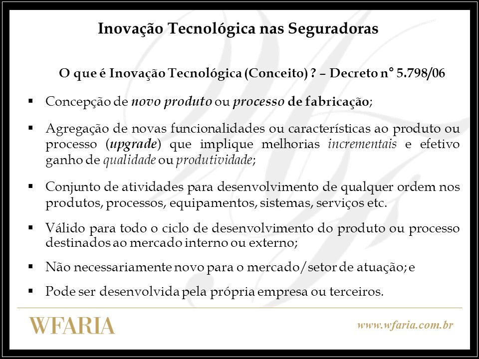 Inovação Tecnológica nas Seguradoras