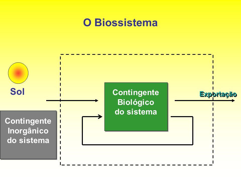 O Biossistema Sol Contingente Biológico do sistema Contingente