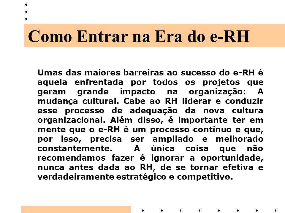 Como Entrar na Era do e-RH