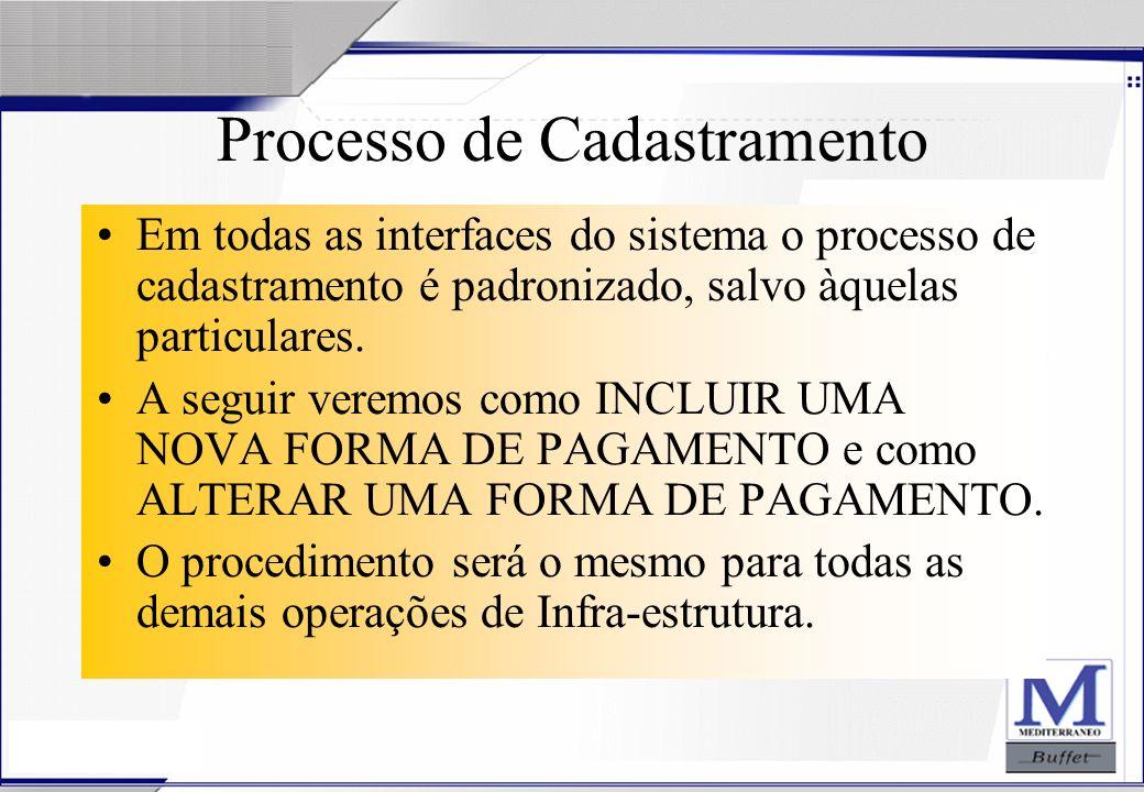 Processo de Cadastramento