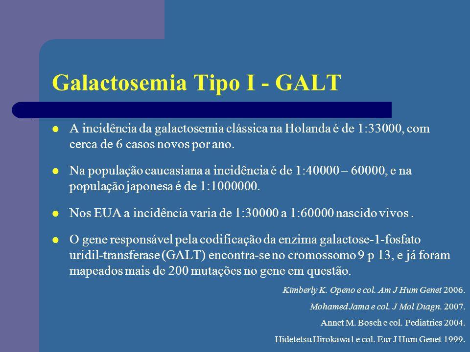 Galactosemia Tipo I - GALT