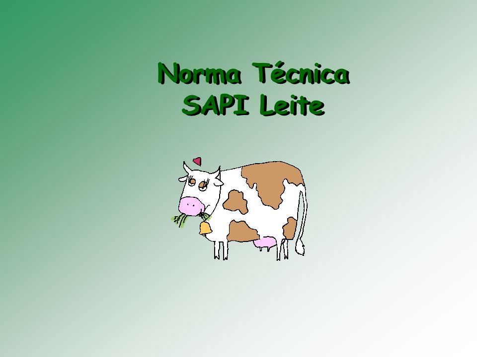 Norma Técnica SAPI Leite