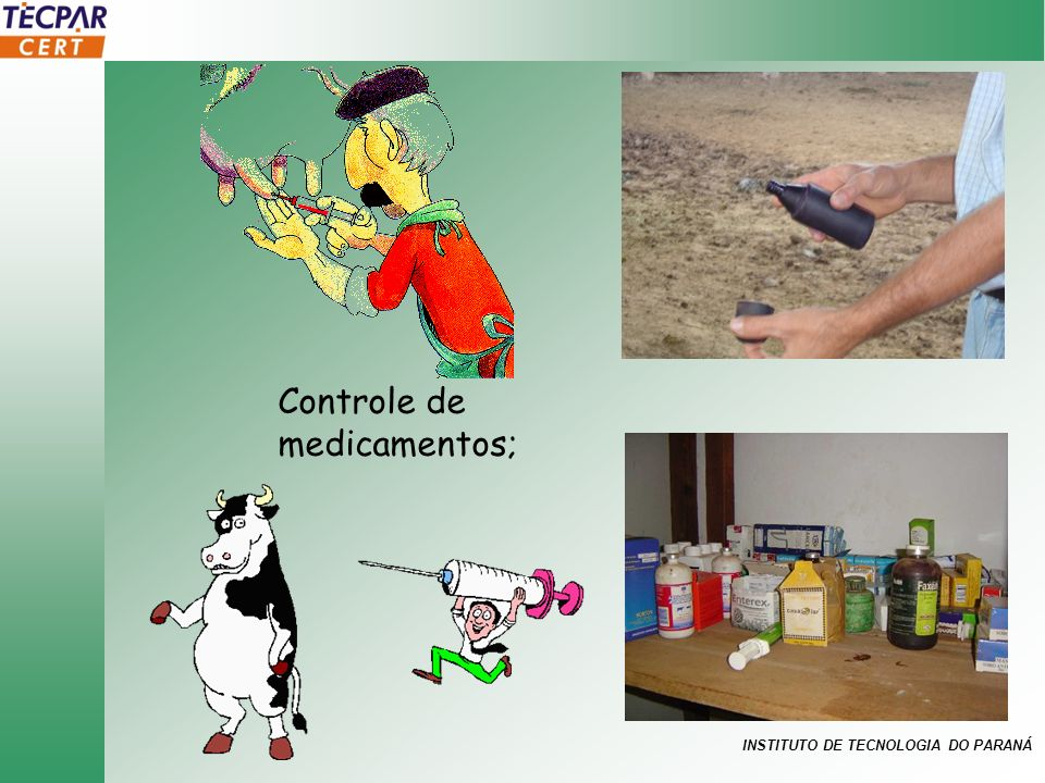 Controle de medicamentos;