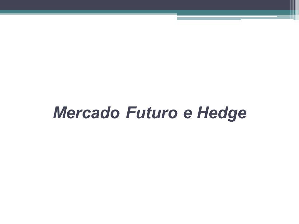 Mercado Futuro e Hedge