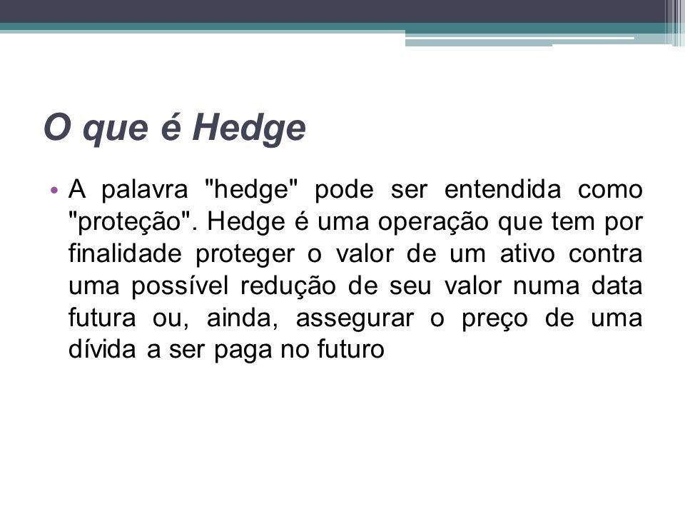 O que é Hedge