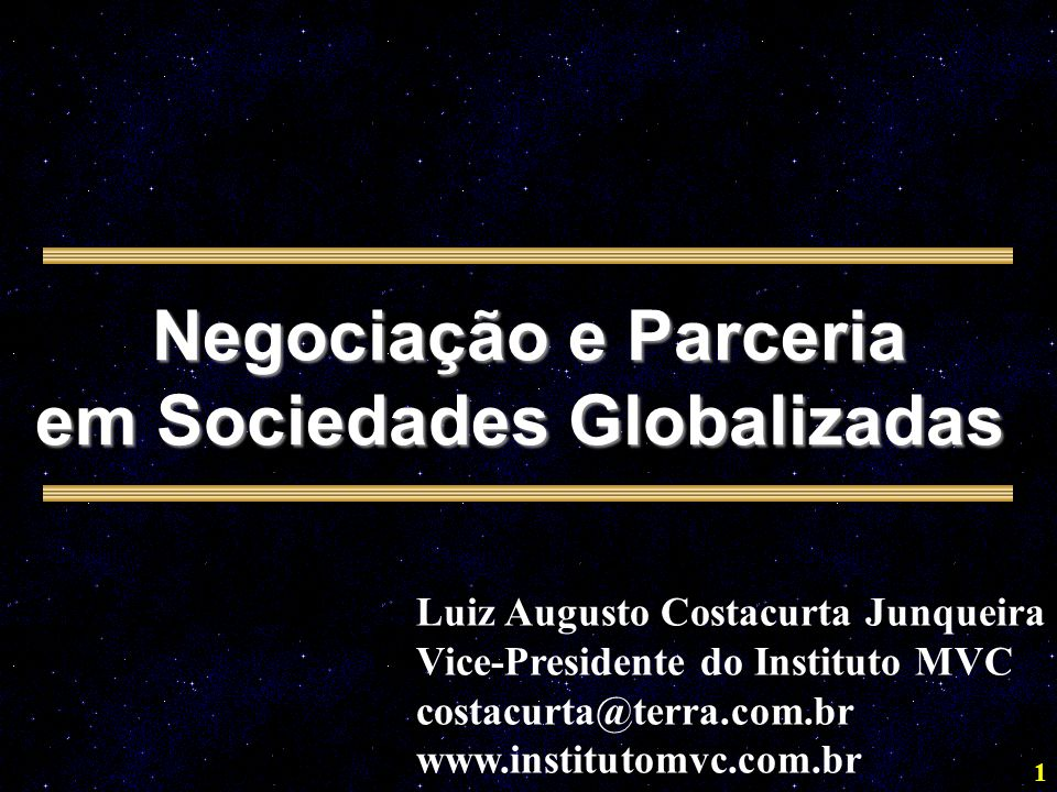 em Sociedades Globalizadas