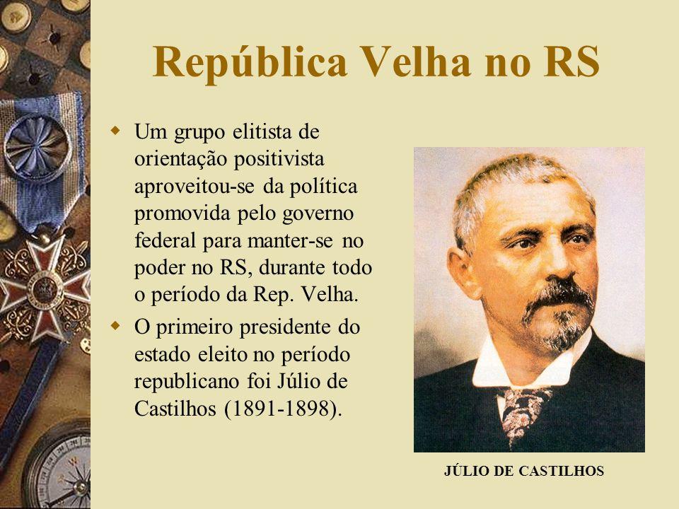 República Velha no RS