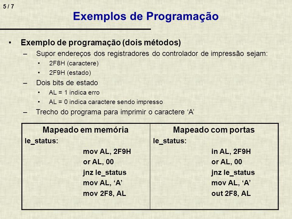 Exemplos de Programação
