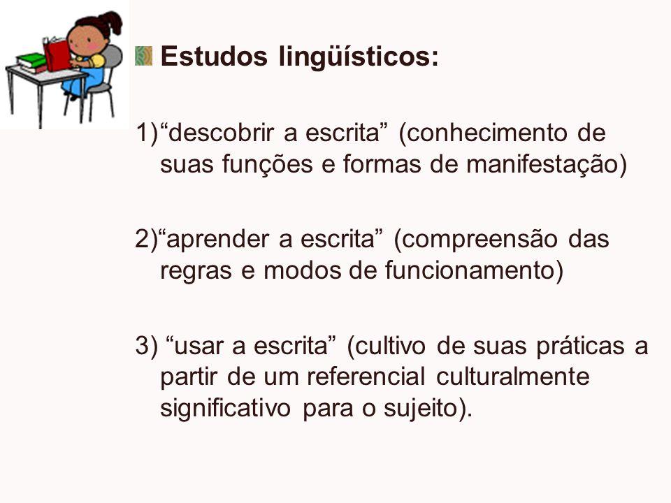 Estudos lingüísticos: