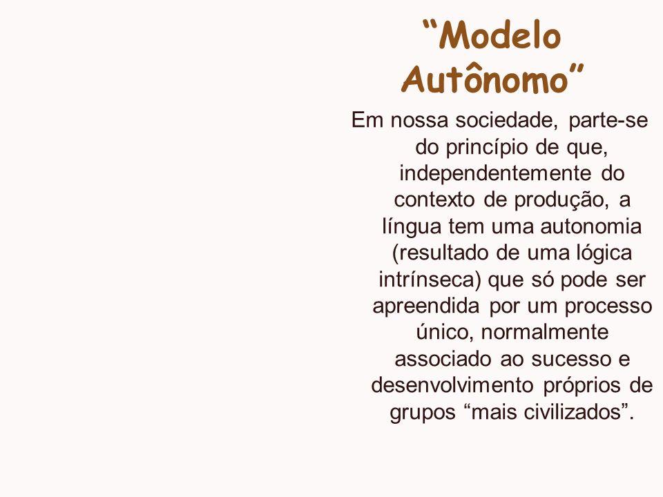 Modelo Autônomo