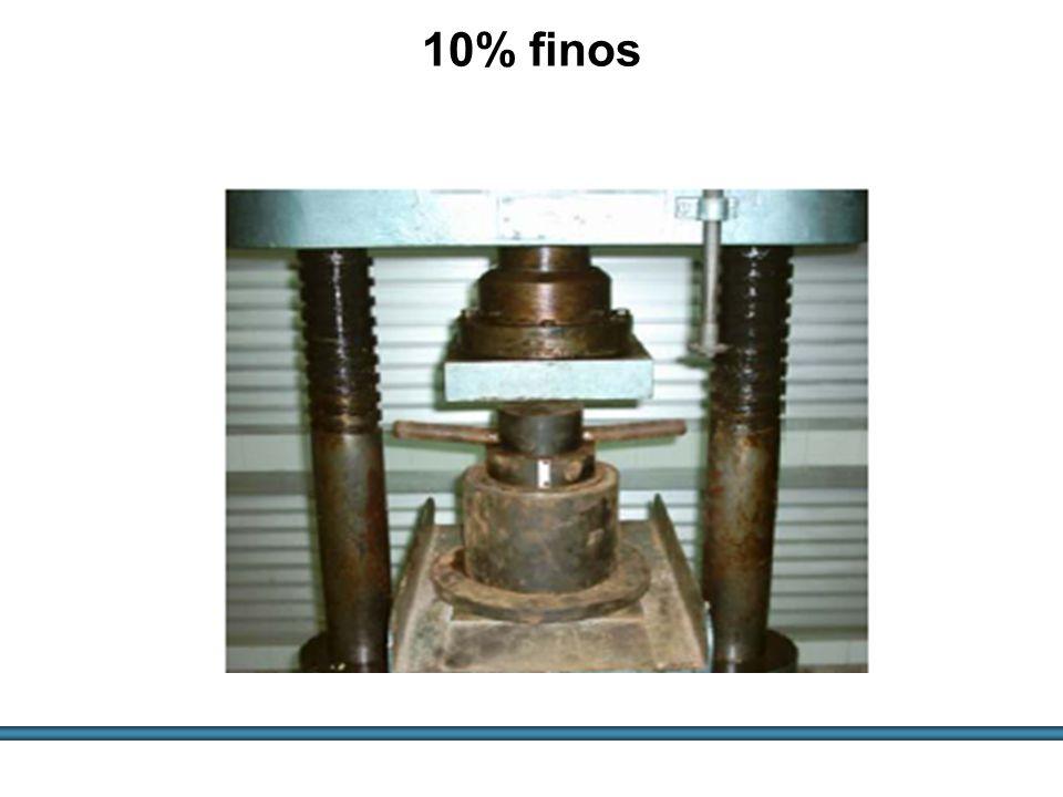 10% finos