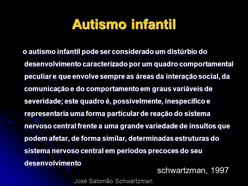Autismo infantil schwartzman, 1997